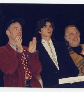 Michael Stipe, Lou Diamond Phillips (Peter Warrack)