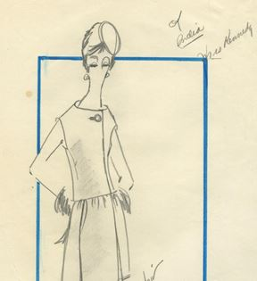 Oleg Cassini Inc. for Jacqueline Kennedy